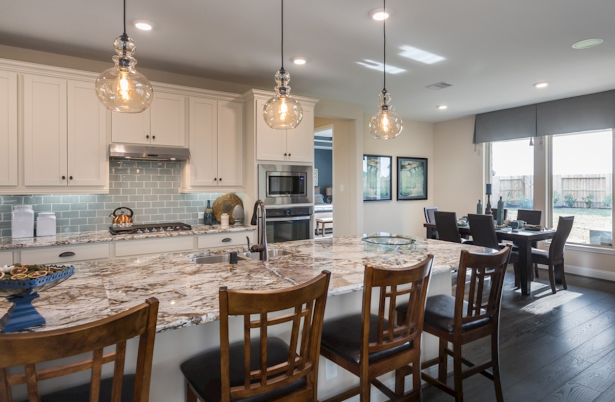 Wildwood at Oakcrest Gruene spacious Choice kitchen