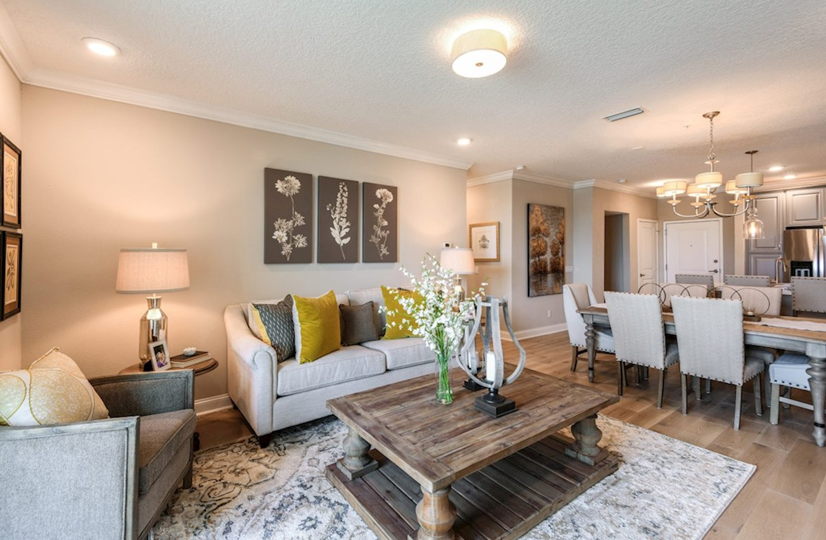 Gatherings® of Lake Nona Bradford light-filled great room