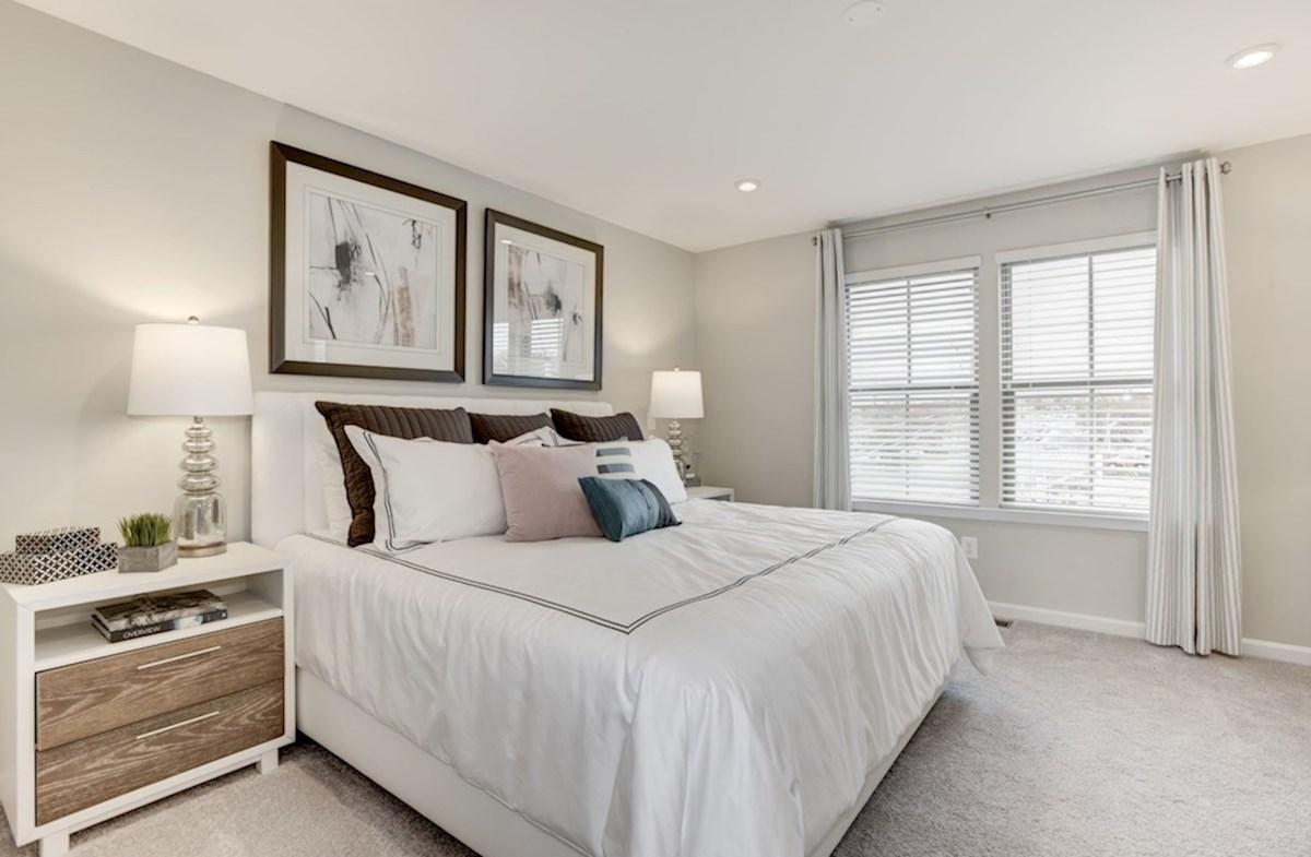 Leesburg Place Kennedy carpeted bedroom