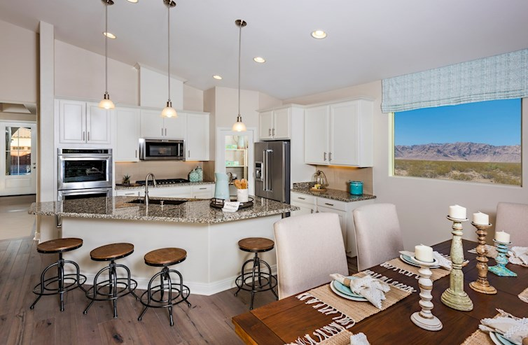 Spacious Choice Kitchen A -Zion Park Collection