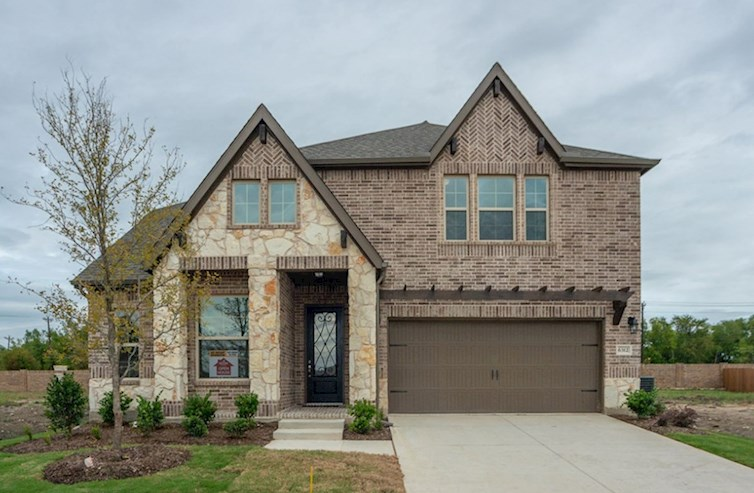 Summerfield Elevation French Country L quick move-in