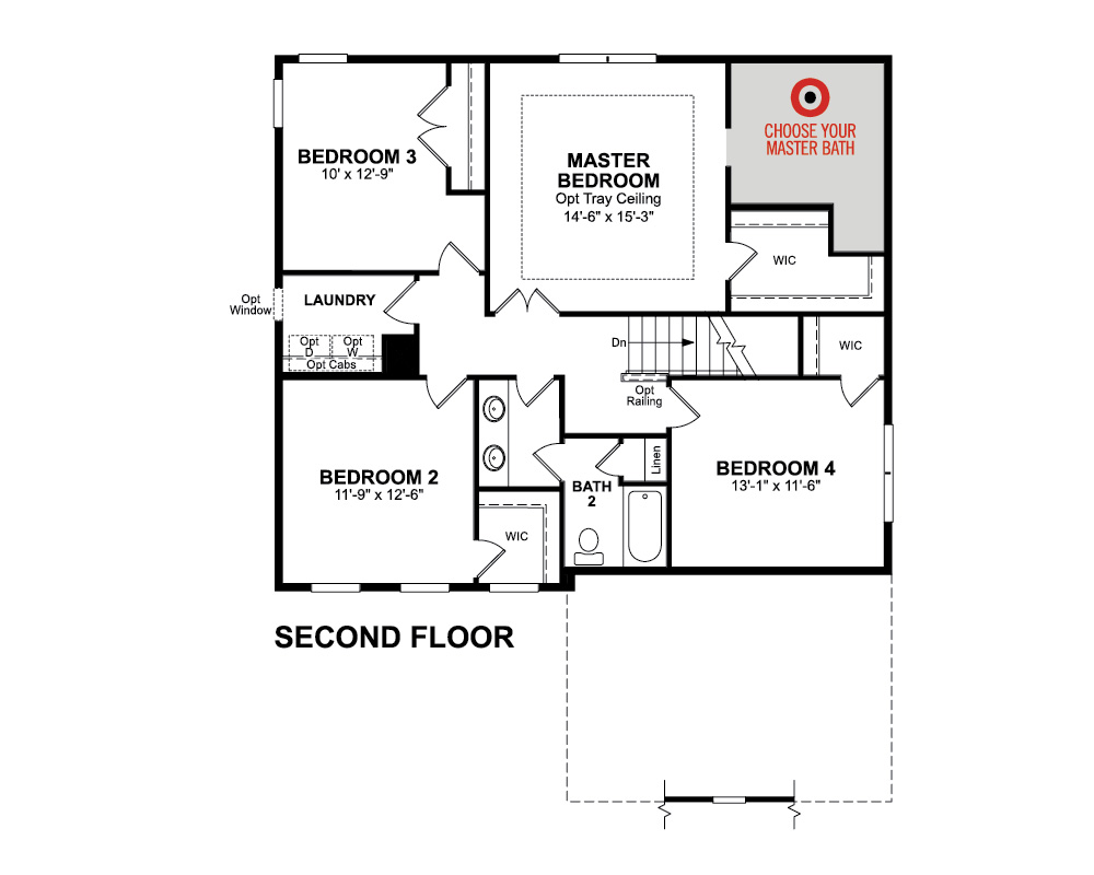 Harrison Home Plan in Summerfield, Fredericksburg, VA | Beazer Homes ...
