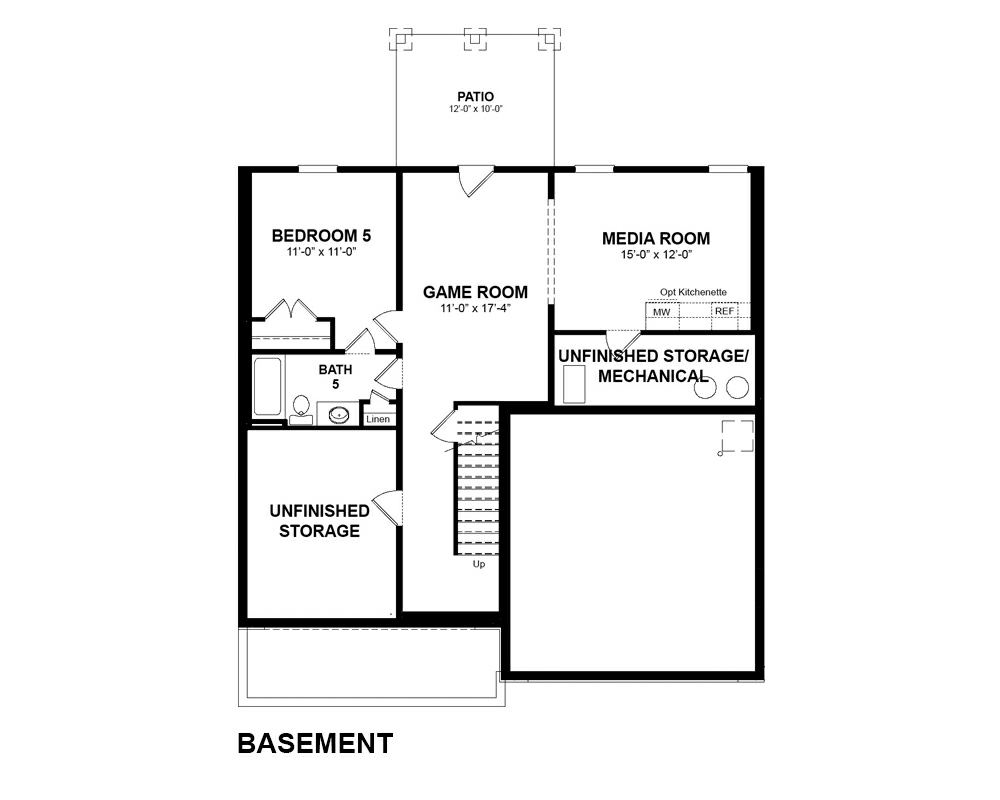Paid options for Optional Basement