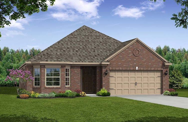 Millbrook Elevation French Country A