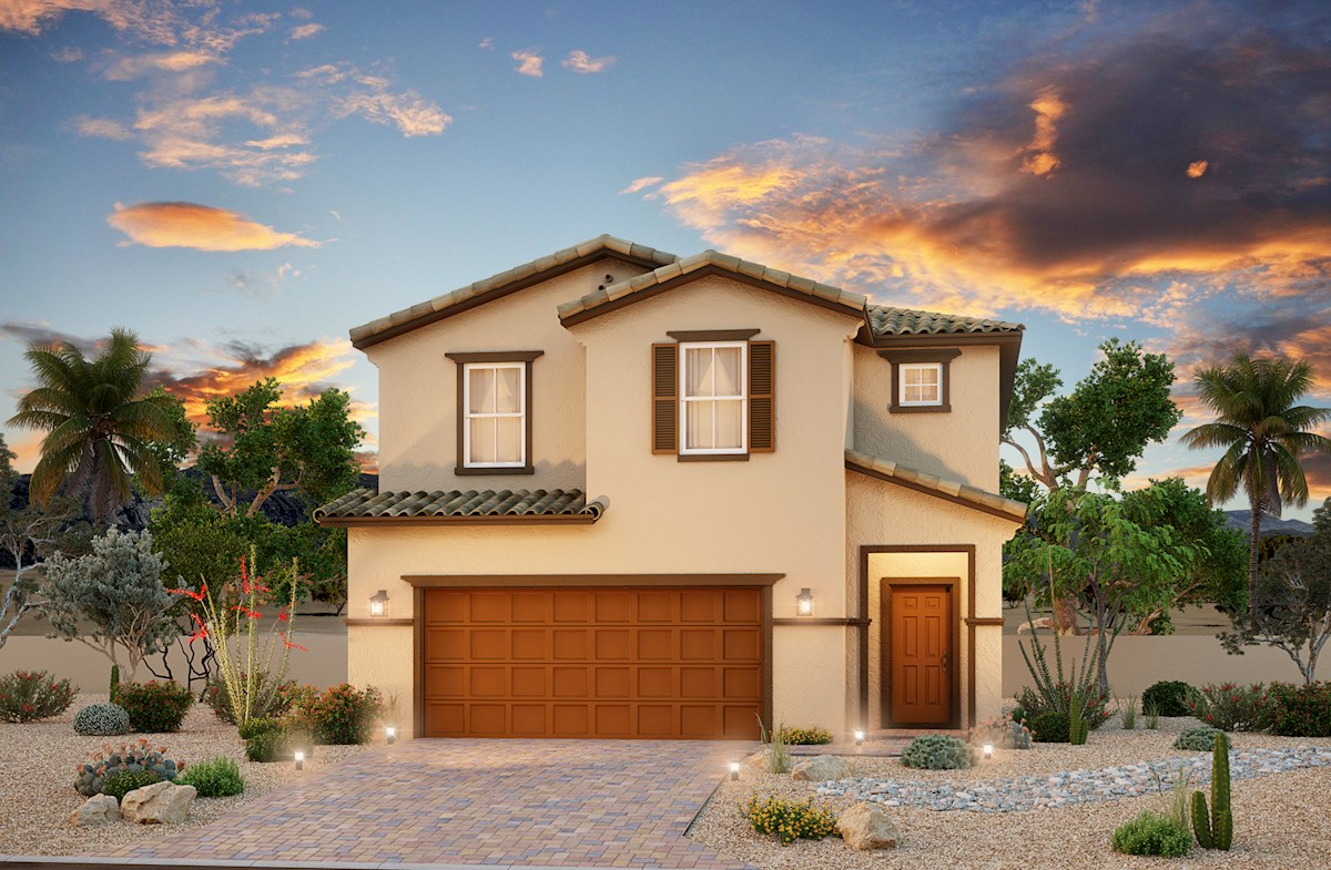 N.Las Vegas two-story homes Rancho Crossing