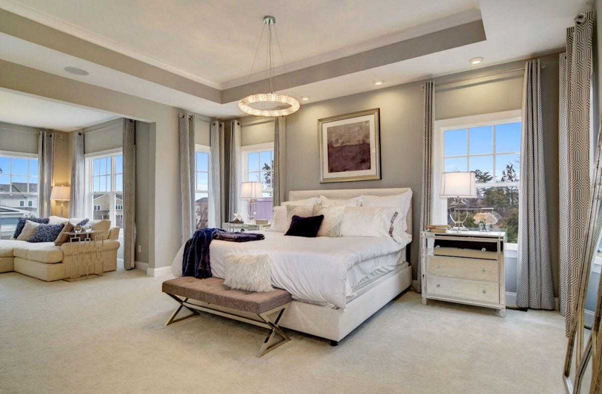 Willowsford Brighton expansive bedroom