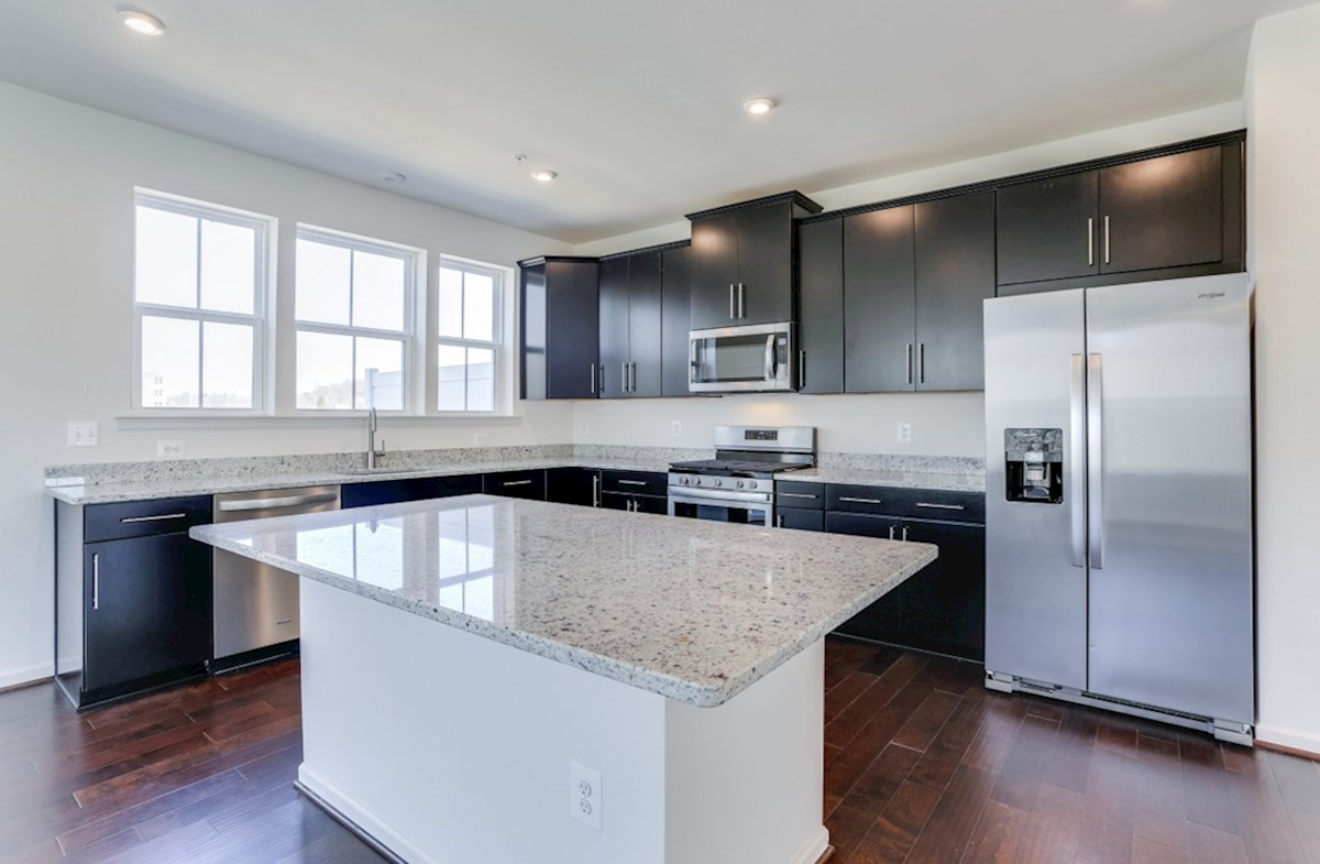 Annapolis quick move-in Annapolis kitchen featuring granite counters