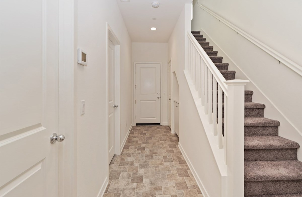 Paxton quick move-in Paxton hallway and staircase