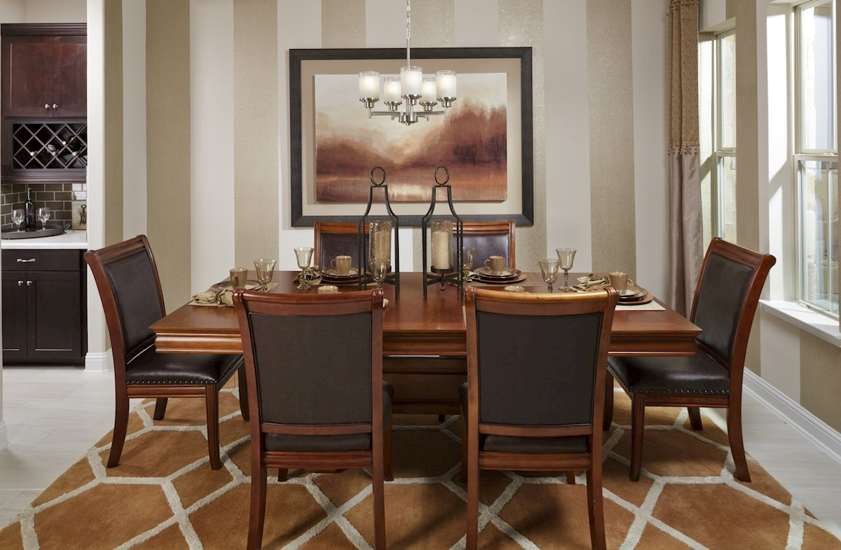Young Ranch Fredericksburg formal dining room