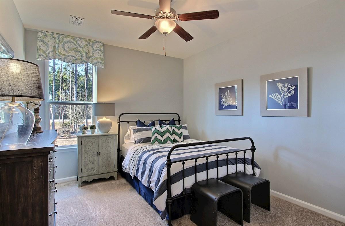 The Oaks at Cane Bay Harding roomy secondary bedroom