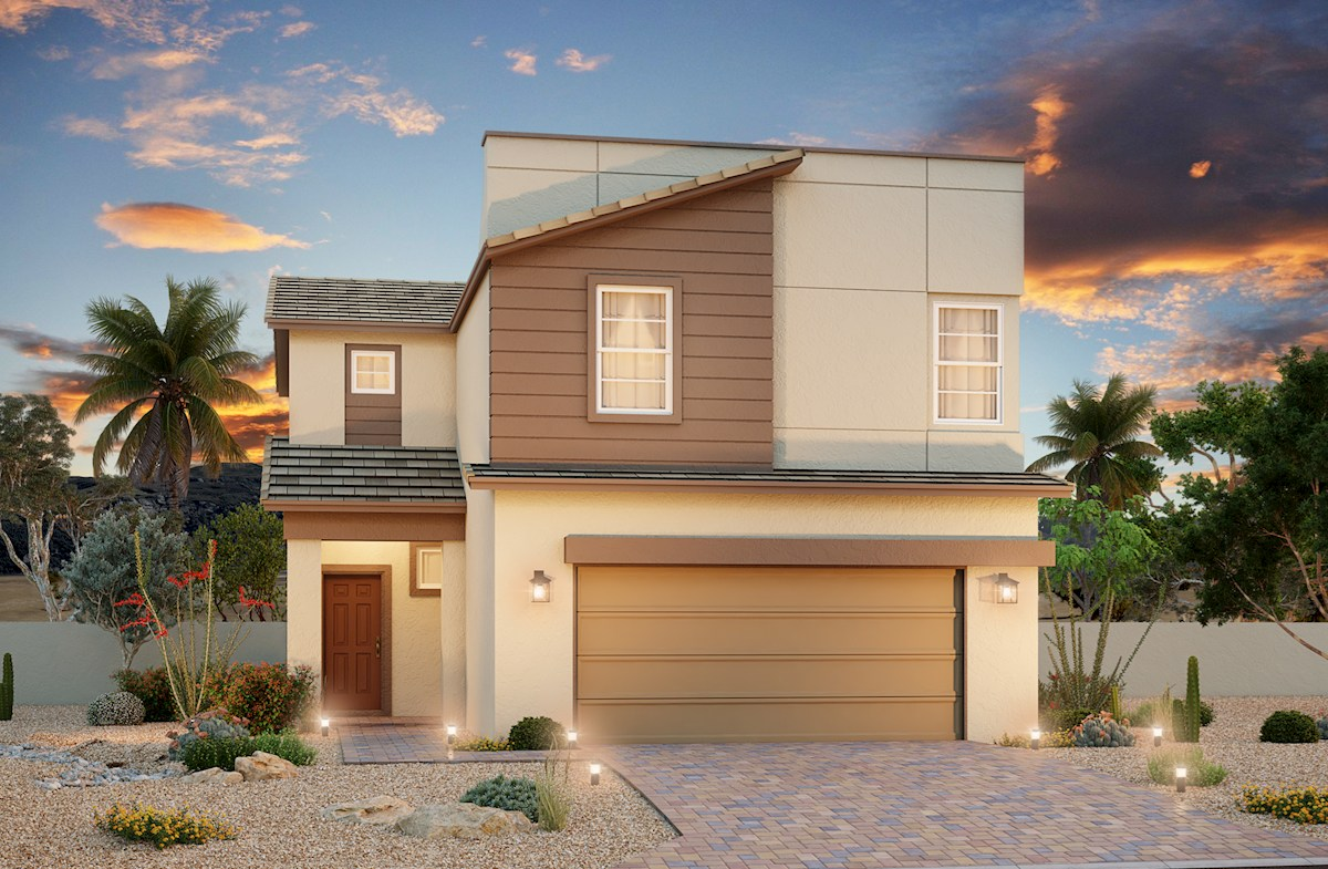 N.Las Vegas,NV two-story homes Rancho Crossing