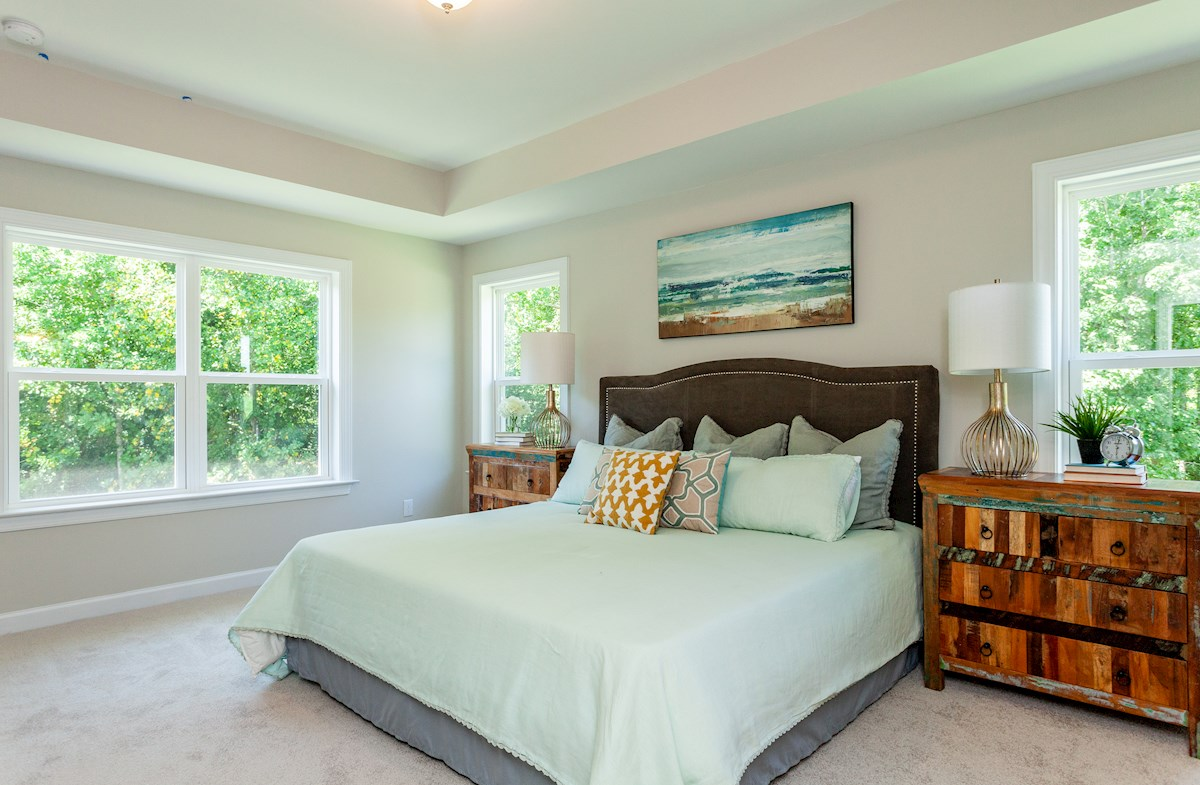 Hamilton master bedroom