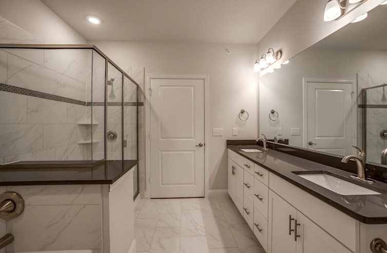 Gatherings® at Mercer Crossing Sherwood Sherwood Master Bathroom