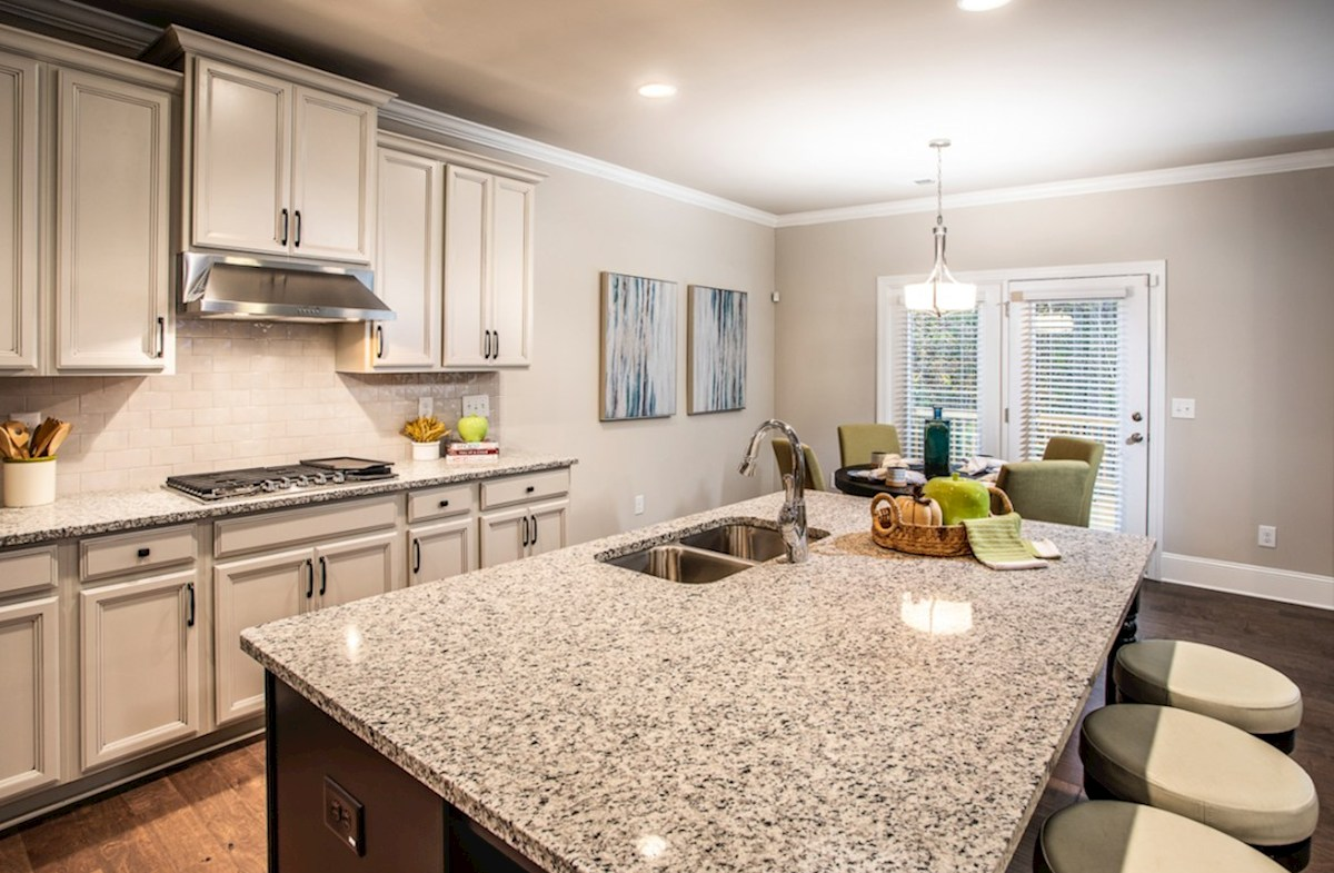 Vinings Summit Laurelwood Kitchen with granite countertops