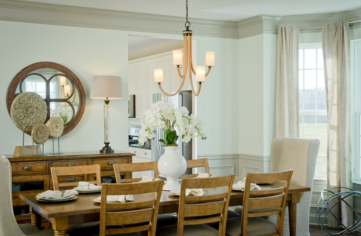 The Preserve at Windlass Run - Single Family Homes Pembrooke formal dining room