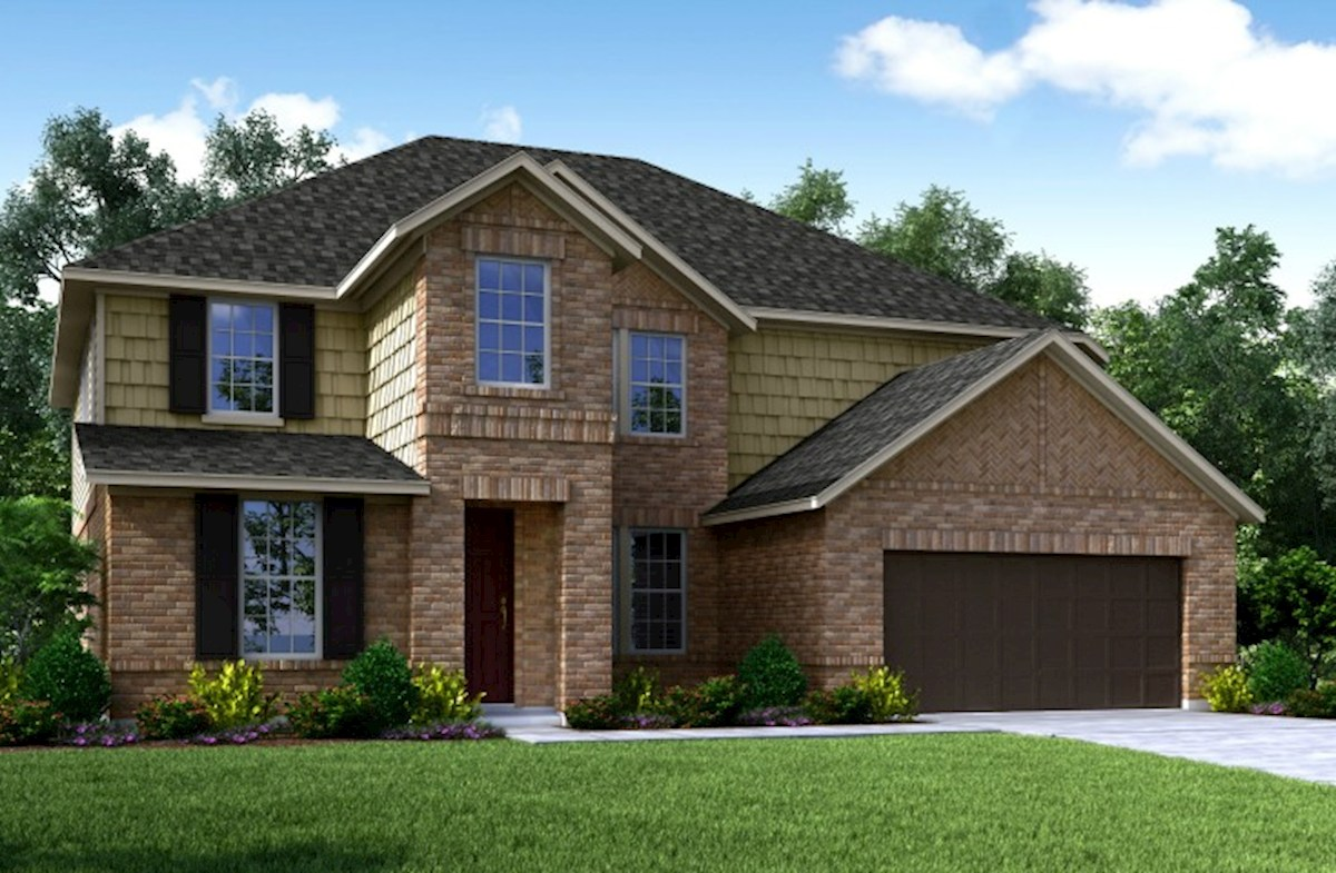 trl traditional l - Lake Ridge Beazer Homes Floor Plans