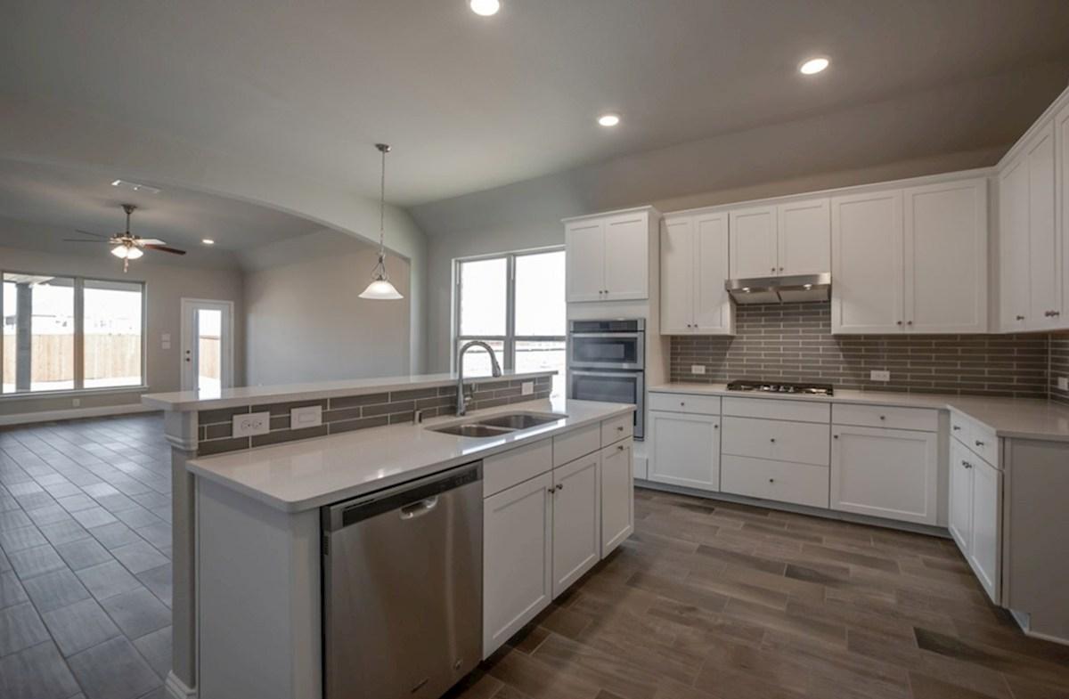 Silverado quick move-in Silverado kitchen with white cabinets