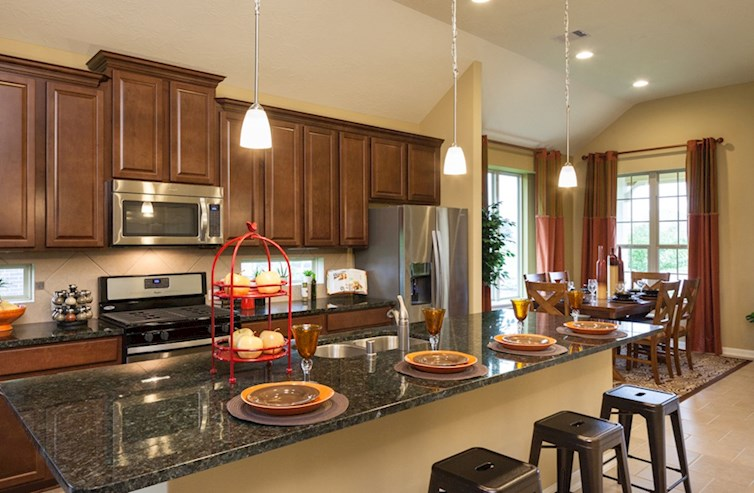 Villages at Harmony Quintera spacious kitchen