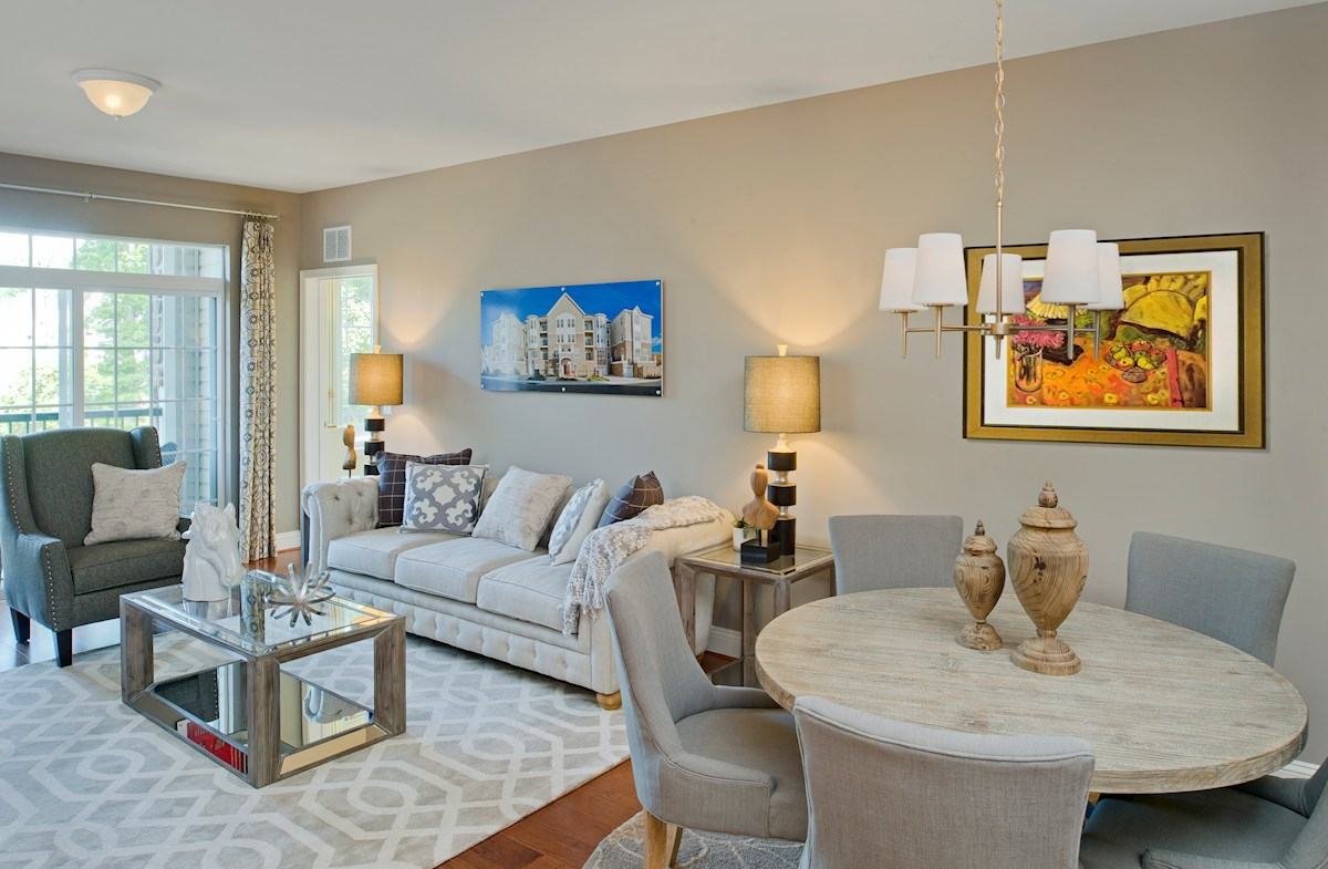 Gatherings® at Quarry Place Bradford light-filled living room