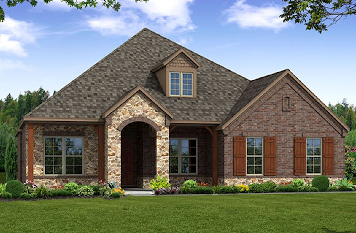 Bandera Elevation French Country L