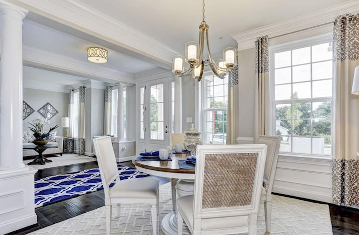Wincopia Farms Brookview Light filled formal dining and living room