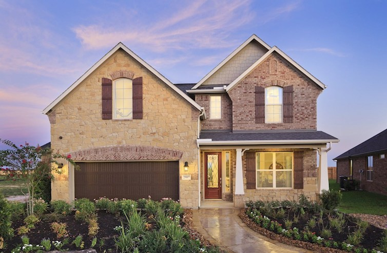 Amstrong brick and stone exterior