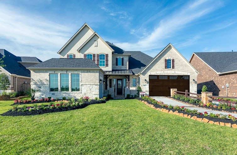 Hartsfield Elevation French Country V quick move-in
