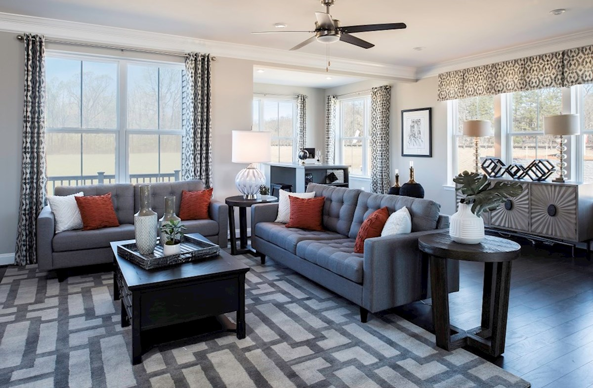 Riverwalk at Crofton Annapolis Annapolis great room extends to the sunroom
