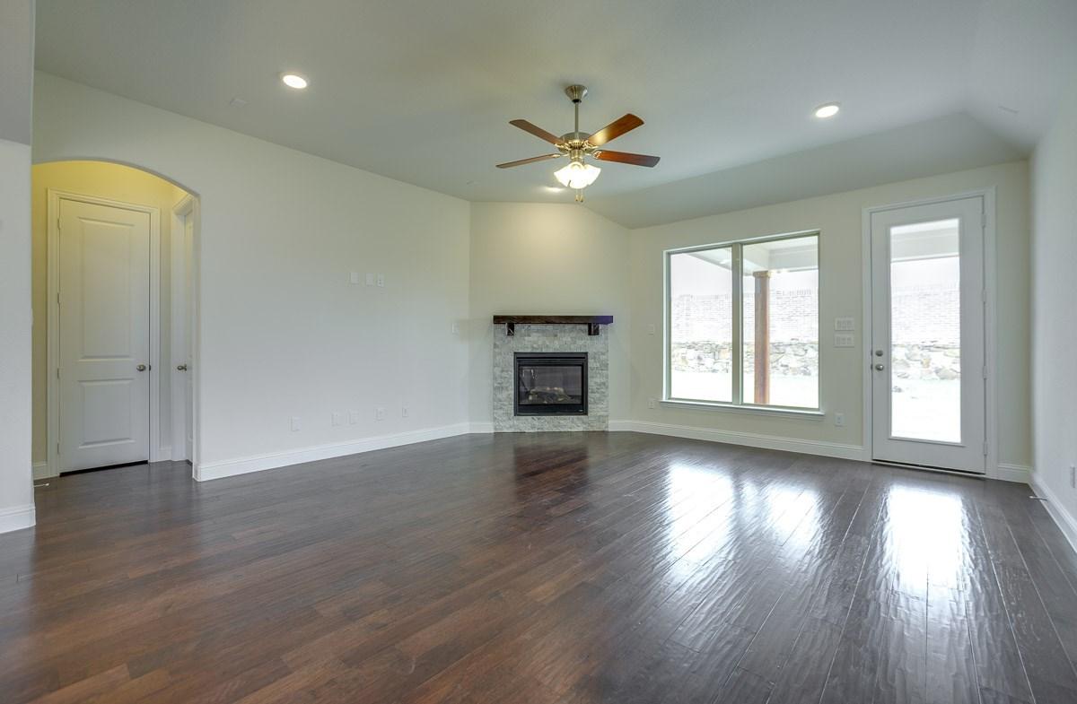 Silverado quick move-in great room with beautiful windows