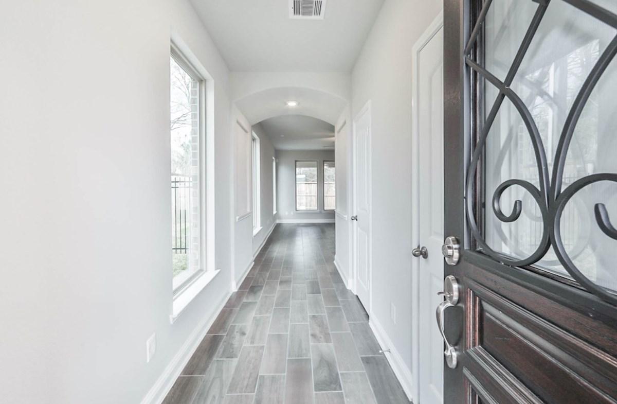 Juniper quick move-in tile floors in Foyer