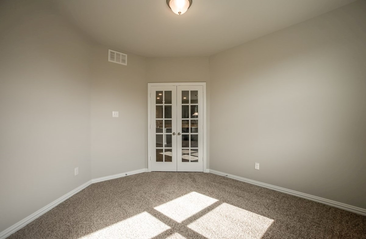 Prescott quick move-in private study with French doors