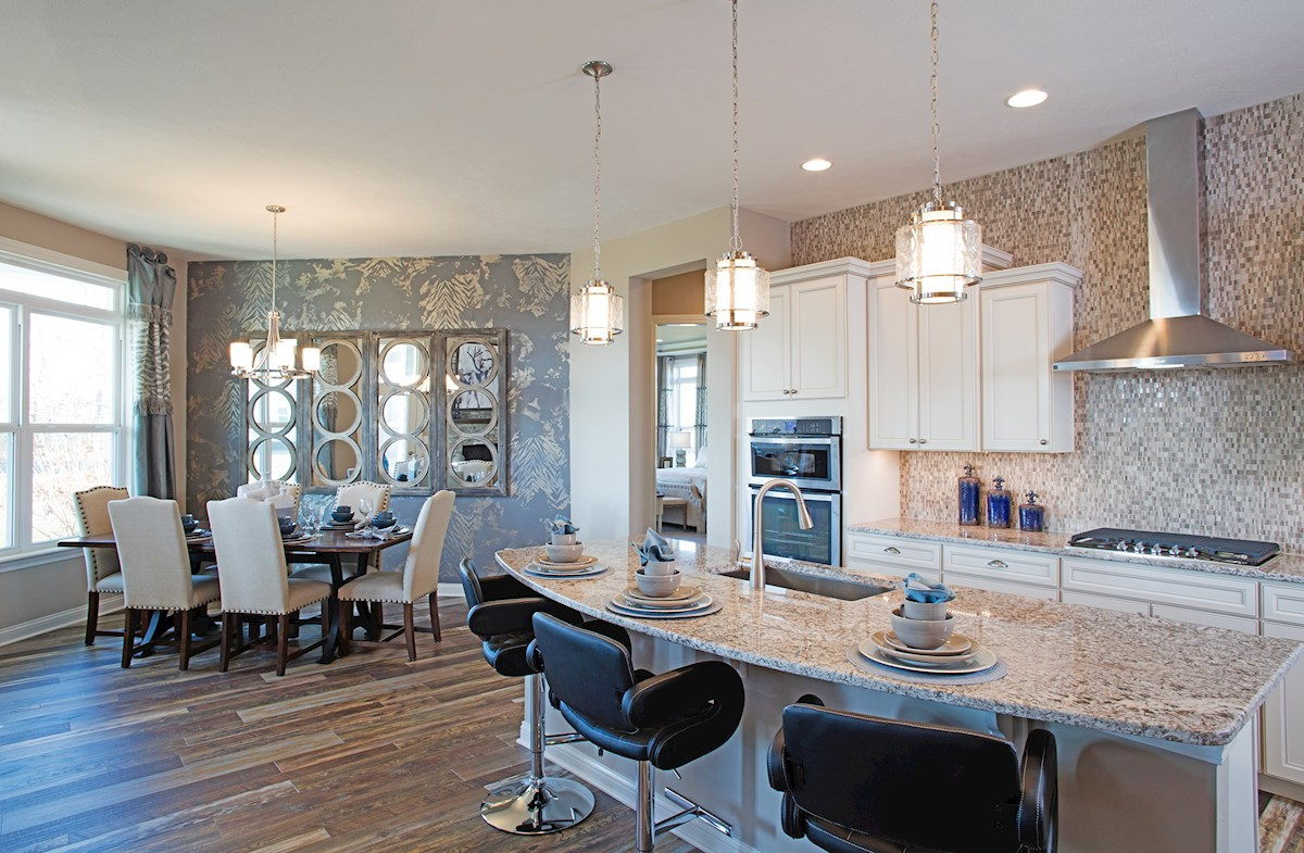 Charleston kitchen with large island