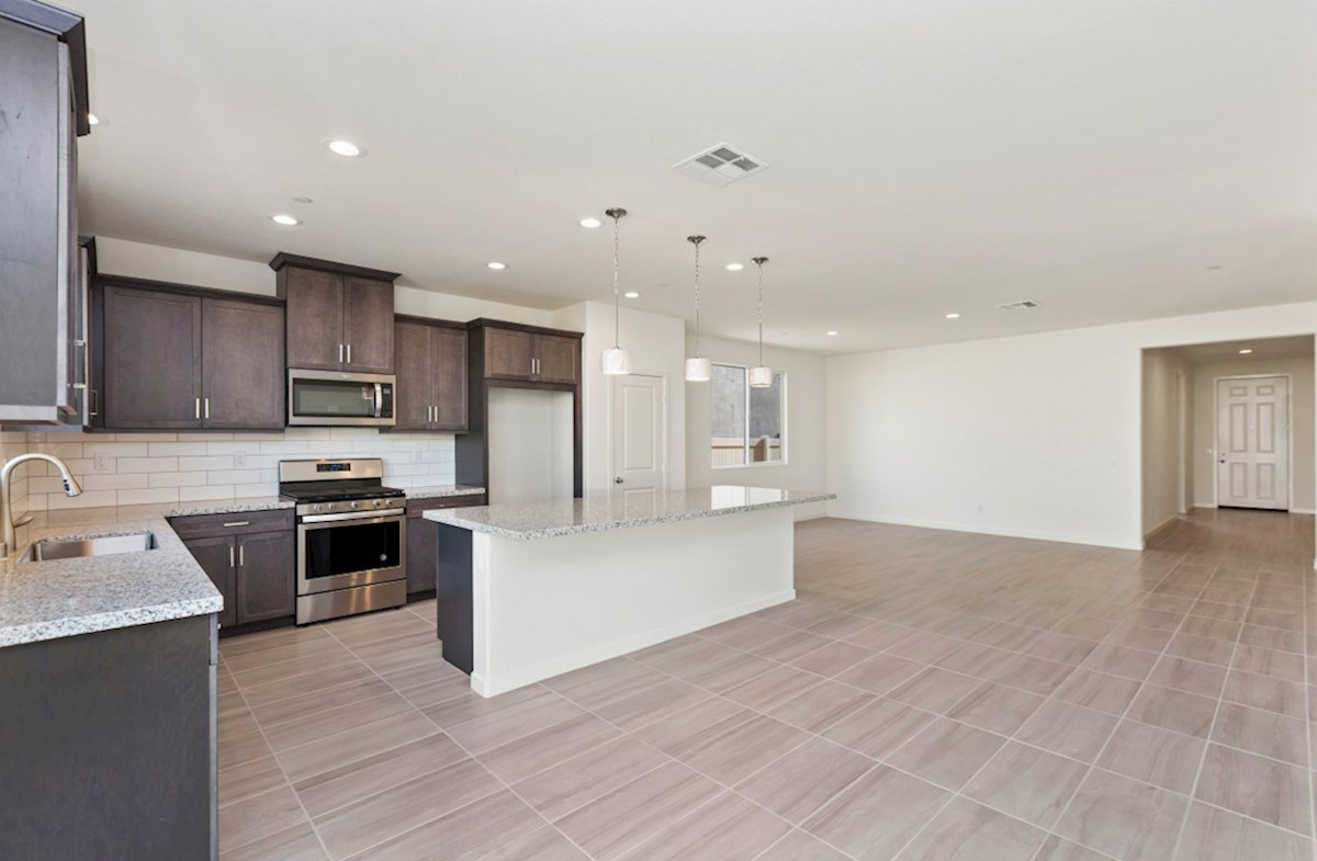 Piedmont quick move-in Enjoy casual dining in open-concept kitchen