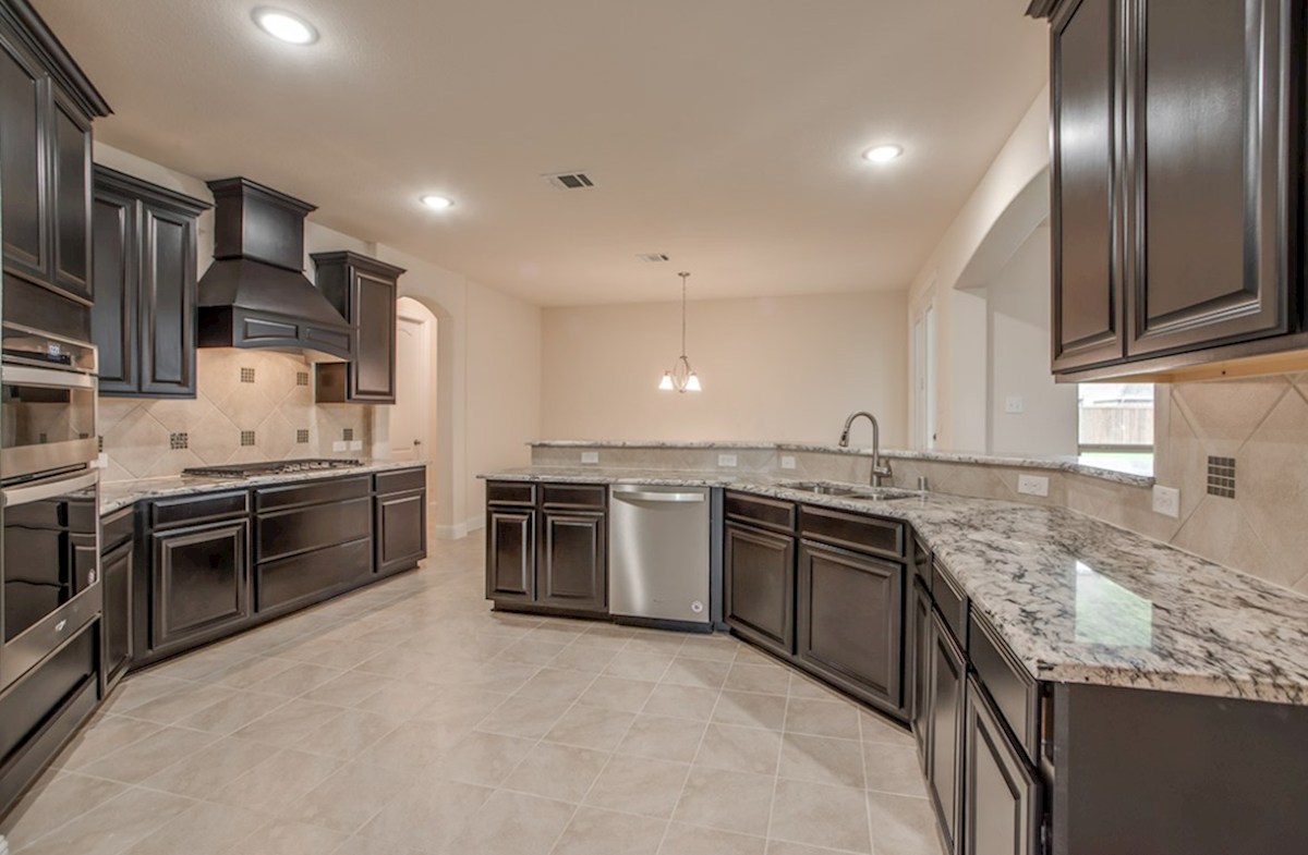 Stoney Creek Degrey Degrey kitchen with ample cabinet space
