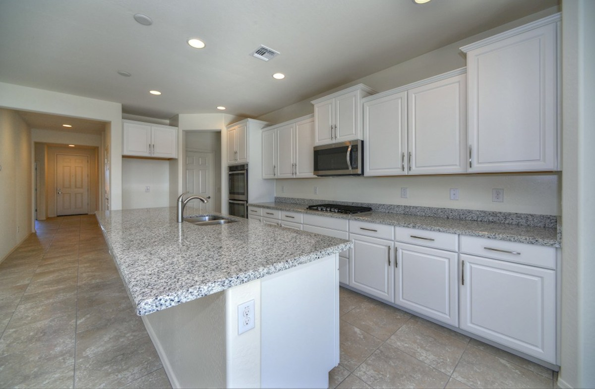 Chaparral quick move-in open kitchen