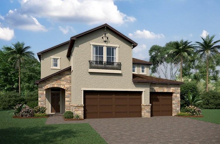 Hampton Elevation Tuscan L