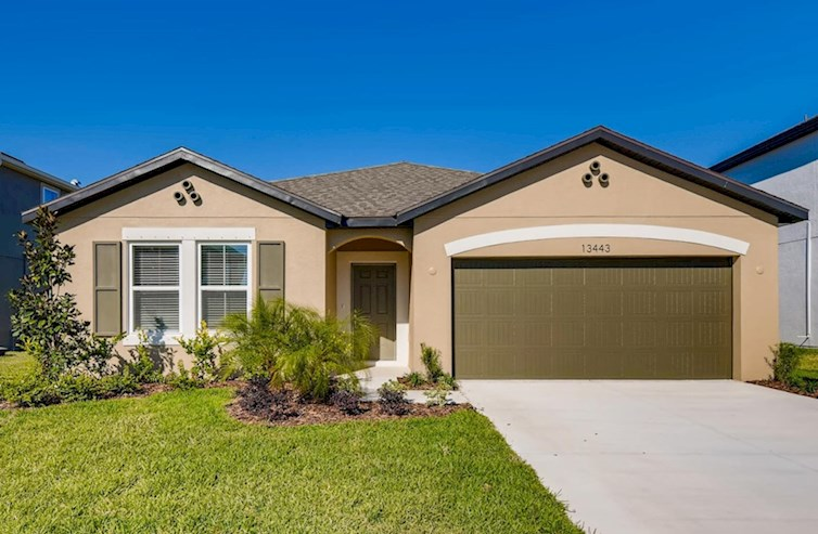 Voyager Elevation Spanish Colonial A quick move-in