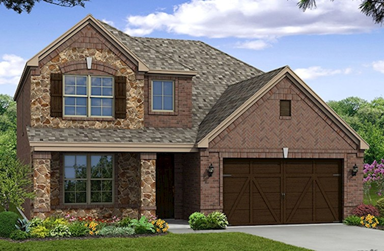 Brookhaven Elevation Traditional X