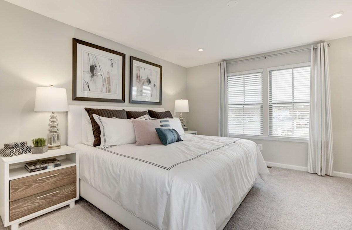 Enclave at Long Branch Alexander carpeted bedroom
