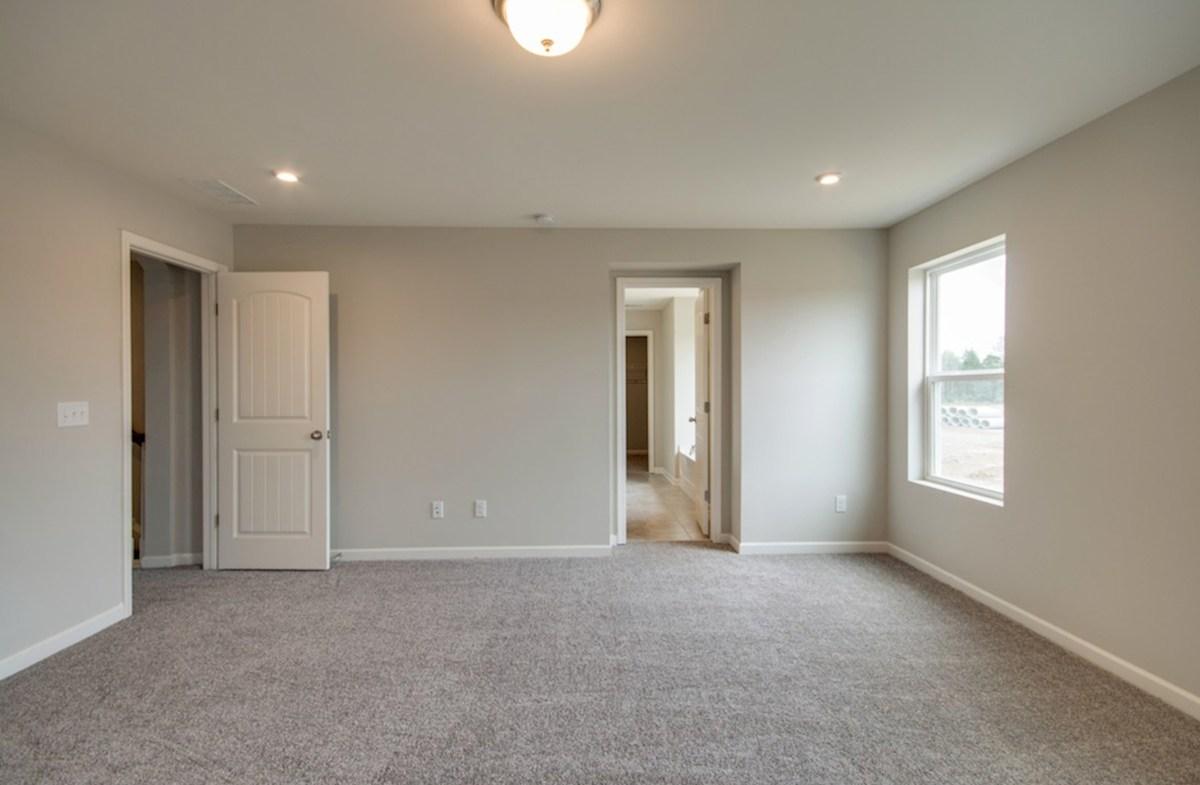 Ashford quick move-in master bedroom on second floor