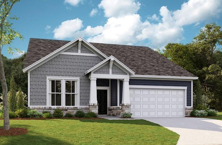 Jefferson Home Plan In Creekside Columbus In Beazer Homes