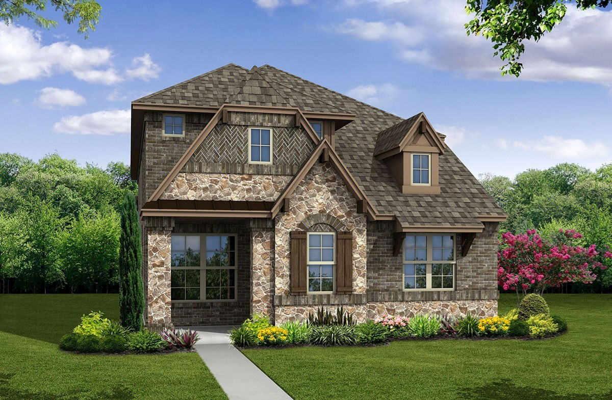 Brazos Elevation French Country L