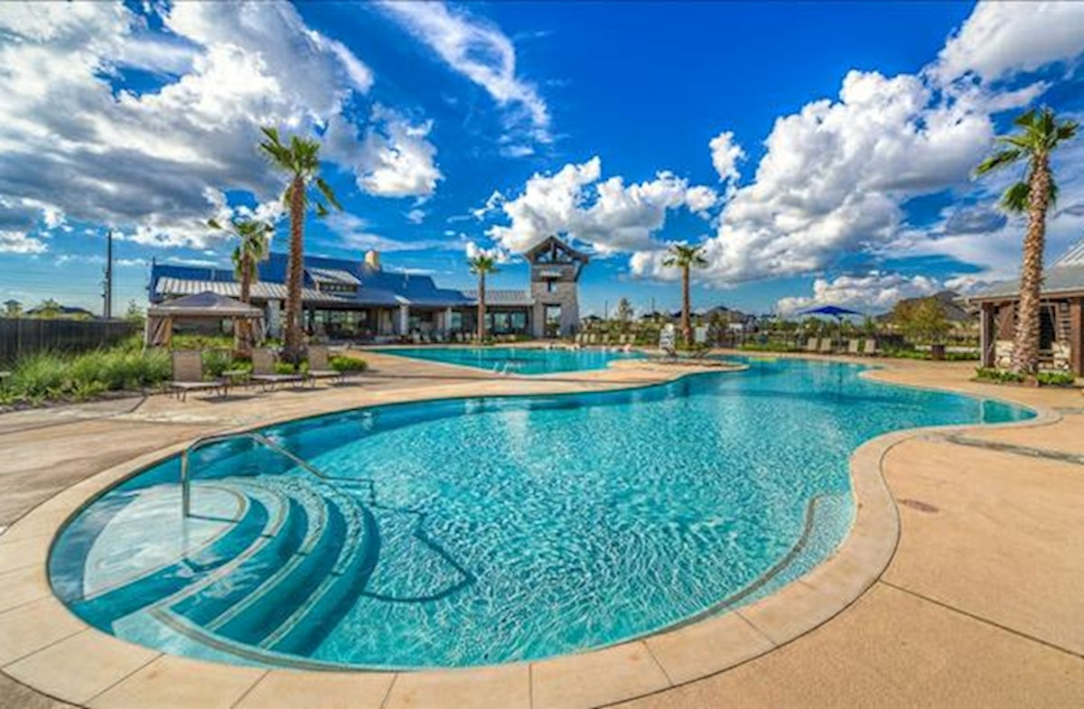 large resort-style community pool