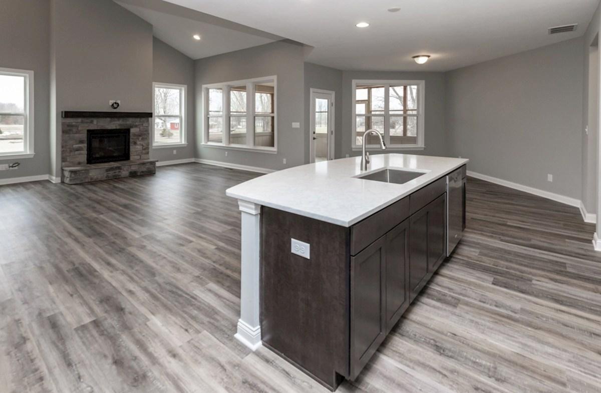 Charleston quick move-in Charleston kitchen and great room