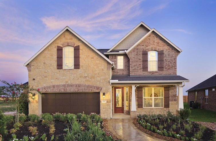 Armstrong exterior with stone accents
