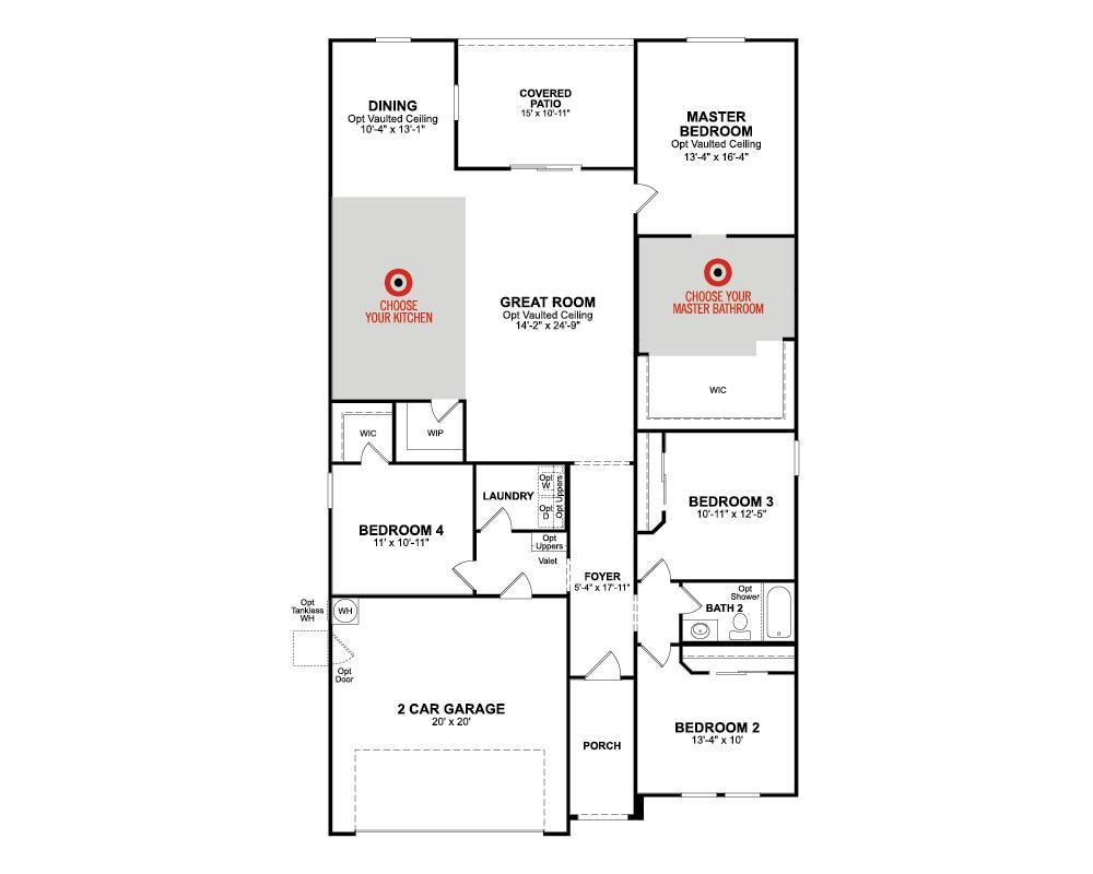 summit home plan in hawthorne at sedona ranch  north las