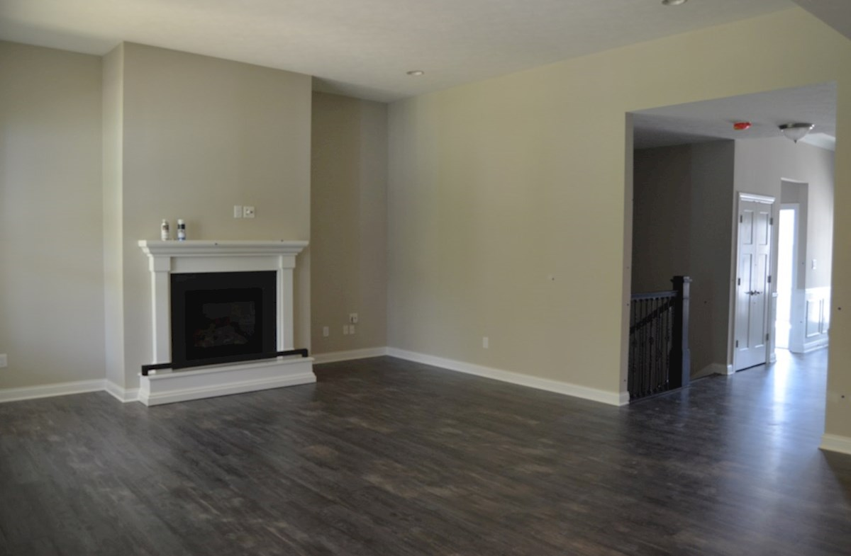 Charleston quick move-in Spacious great room with hardwood floors