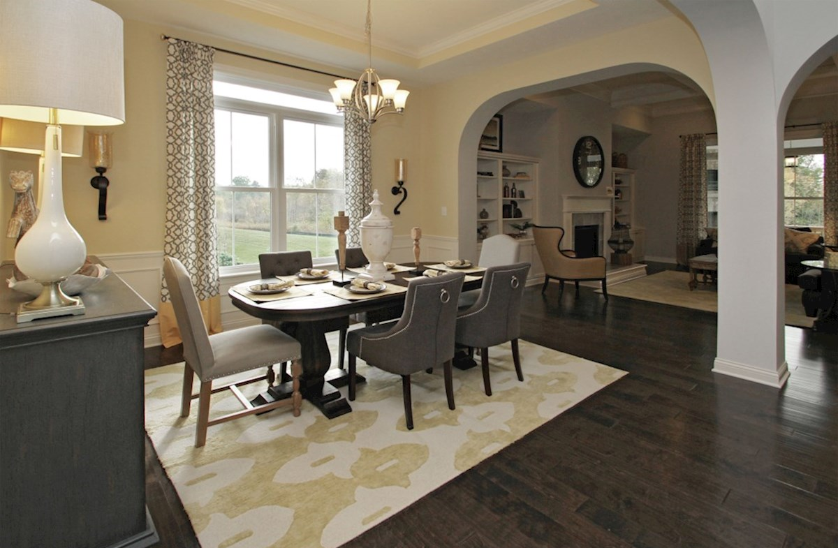 Capitol quick move-in Formal dining perfect for friends and family