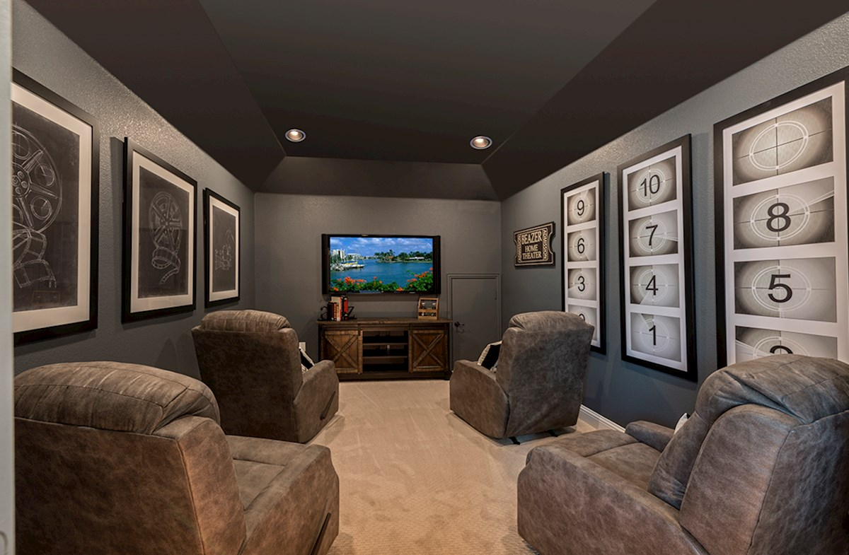 media room for movie nights