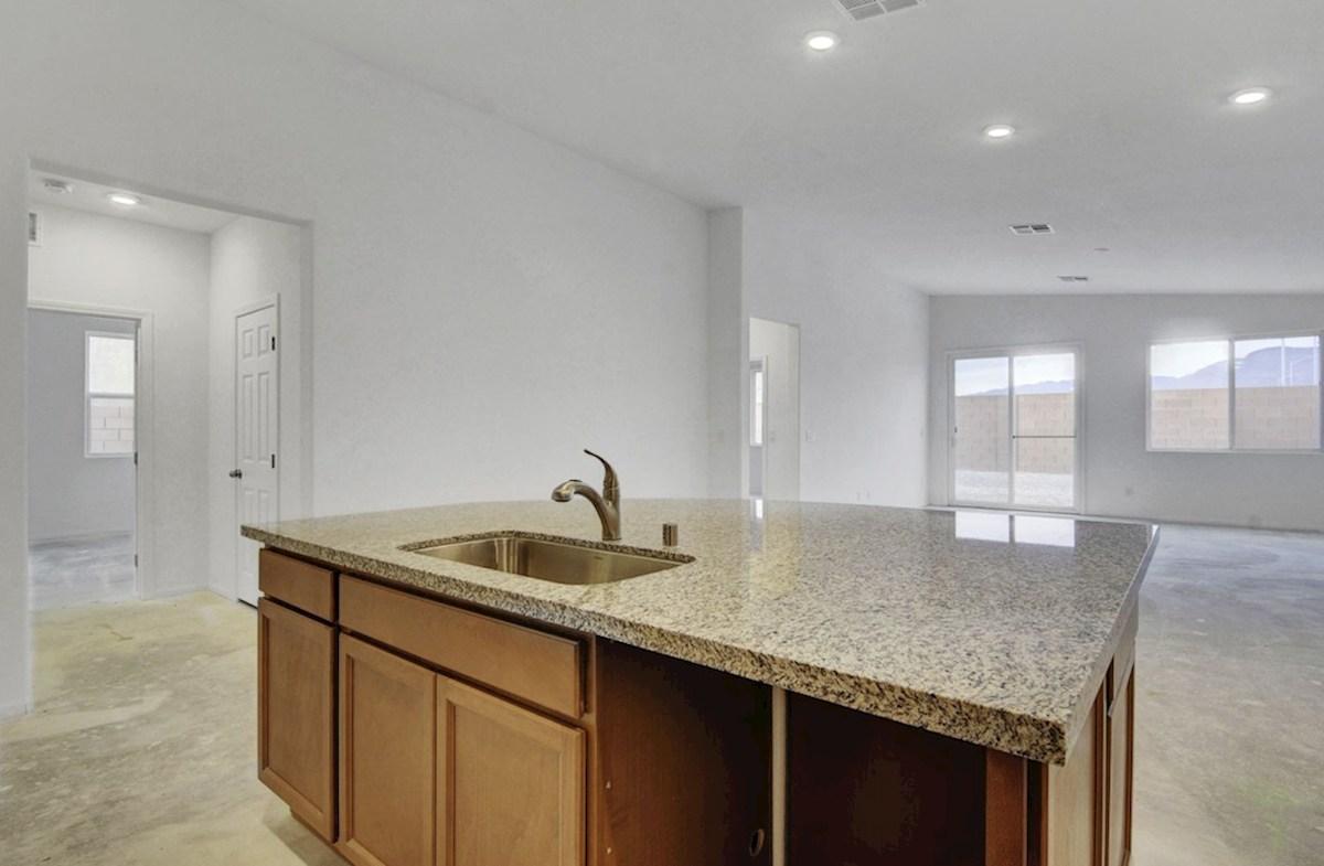 Zion quick move-in Oversized island in Kitchen - homesite #6